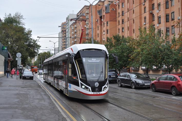 «Трансмашхолдинг» передал ГУП «Мосгортранс» 100 трамвайных вагонов «Витязь-М»