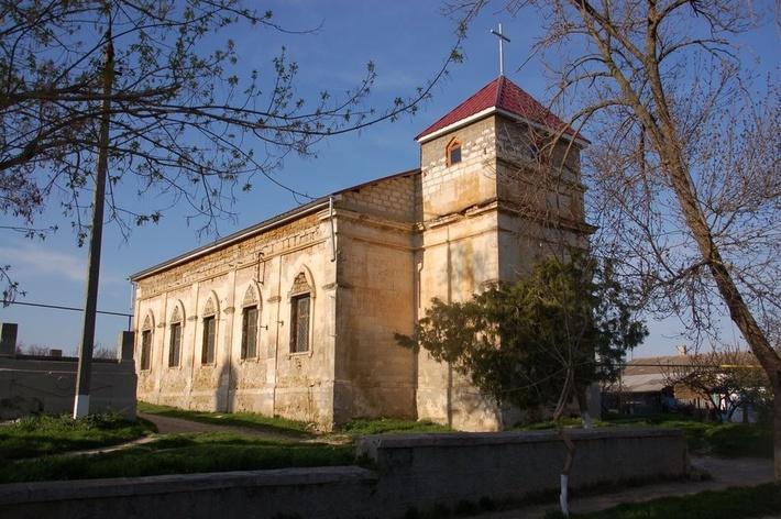 Римско-католический храм села Кольчугино.