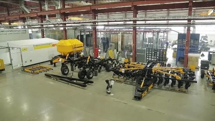Компания «ЧКЗ Агро» открыла дополнительный цех своего нового производства агротехники в Челябинске
