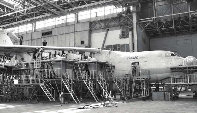 """Ил-76МД-90А (01-03) - фото из газеты """"Старт"""" - 21 ноября (кликабельно)"""