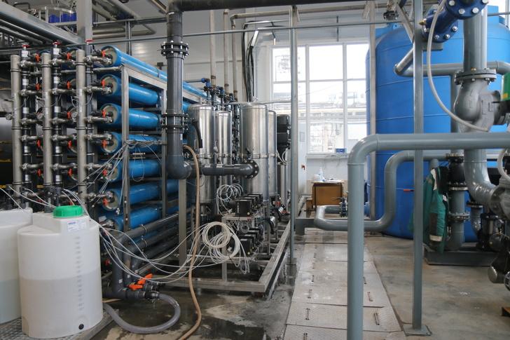 Установка обратного осмоса для водоочистки