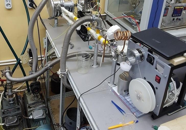 Уникальная установка осаждения пленок по технологии LPMOCVD