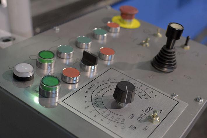 Пульт управления оператора станка