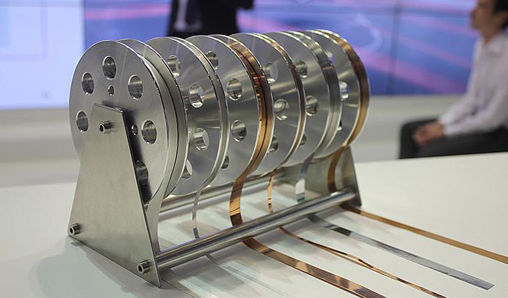 ВТСП-провод второго поколения обладает самой высокой токонесущей способностью из известных материалов