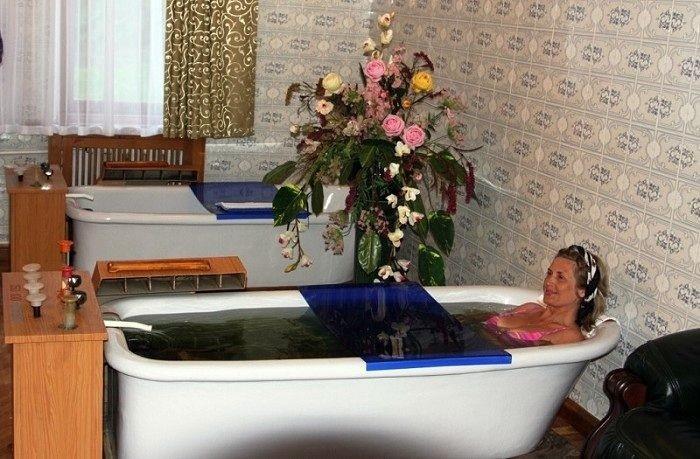 Лечебные ванны Мацесты.