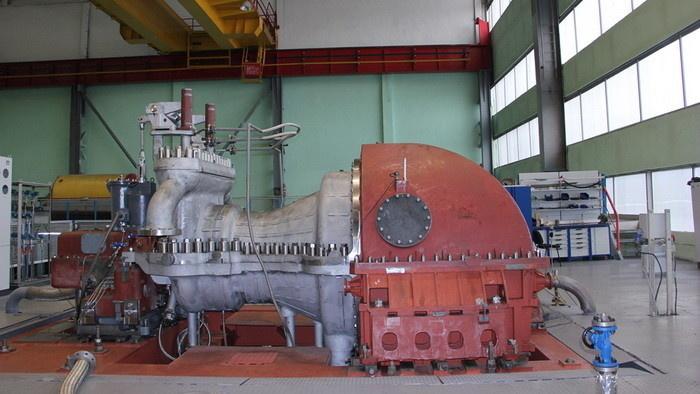 Стенд для испытаний паровых турбин