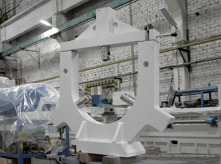 Неподвижный роликовый люнет Ø450-700 мм