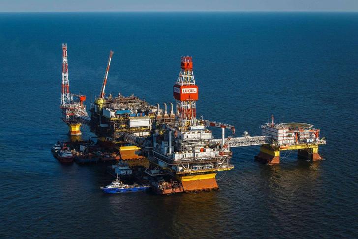 месторождение имени Владимира Филановского в Каспийском море