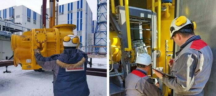 Специалисты СервисЭНЕРГАЗа обладают уникальным опытом работ на опасных и технически сложных объектах