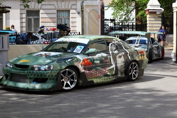 4 х красочная машина: