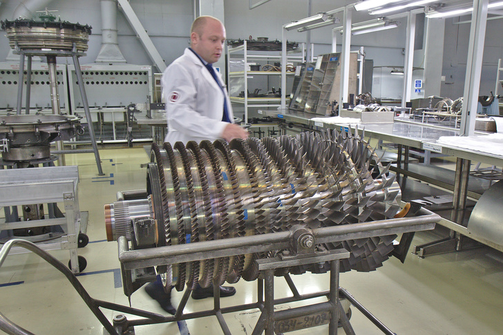 Ротор компрессора авиадвигателя ПС-90А