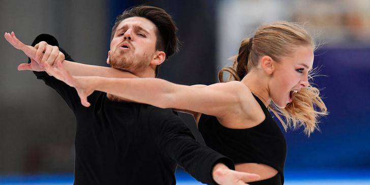 Степанова и Букин выиграли соревнования танцевальных пар на этапе Гран-при в Финляндии