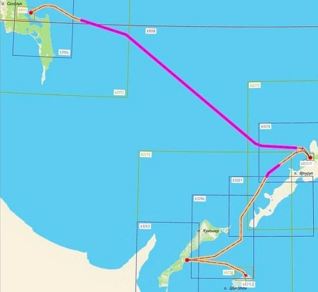Оптоволоконный кабель связи проложили от Южно-Сахалинска до островов Итуруп и Кунашир