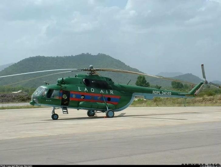 «Вертолеты России» передали Лаосу партию отремонтированных Ми-17