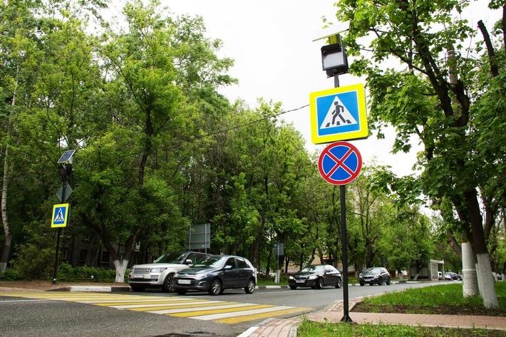 Химки, Ленинский проспект, после установки знаков