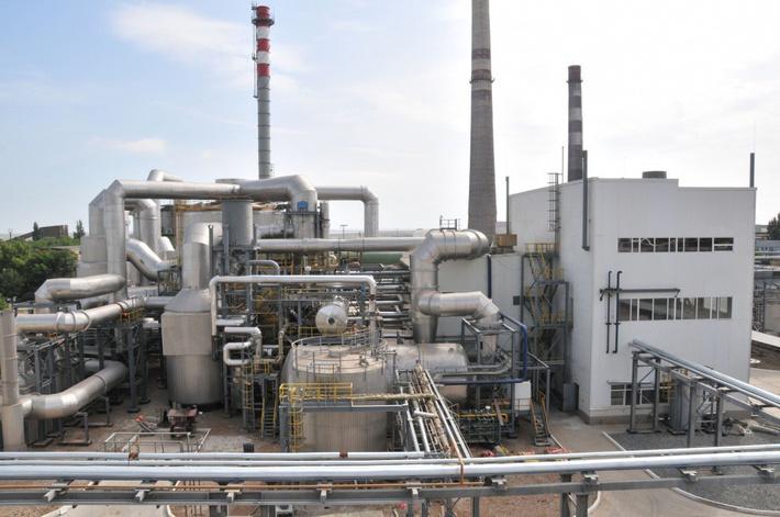 Закончено строительство нового отдельного производства серной кислоты на заводе «Крымский титан»