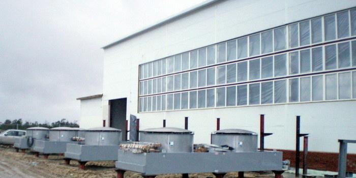 Здание установки компримирования топливного газа