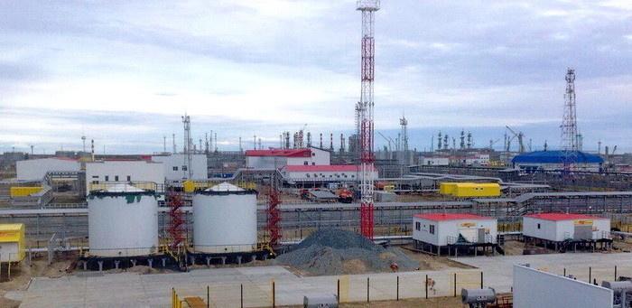 Строительство УКПГиК на Восточном Уренгое