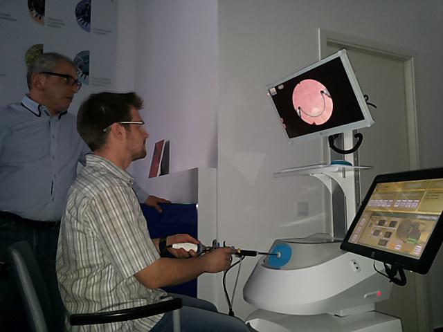 гистероскопический симулятор компании «Эйдос»