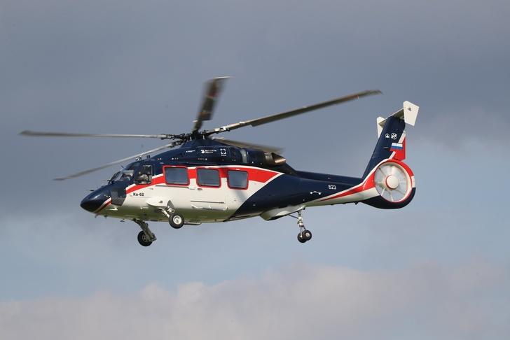 Вертолет Ка-62 приступил к сертификационным испытаниям