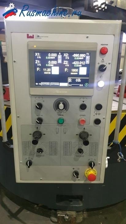 пульт управления токарно-карусельный станок