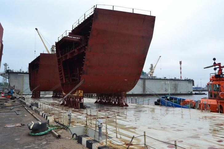 Блок-секции для судна обеспечения аварийно-спасательных работ «Воевода» проекта 23700