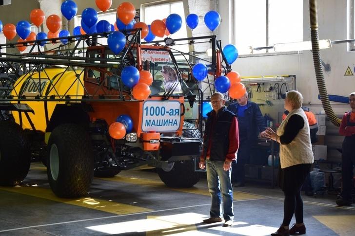 Самарское предприятие сельхозмашиностроения «Пегас-Агро» выпустило 1000-ную машину «Туман»