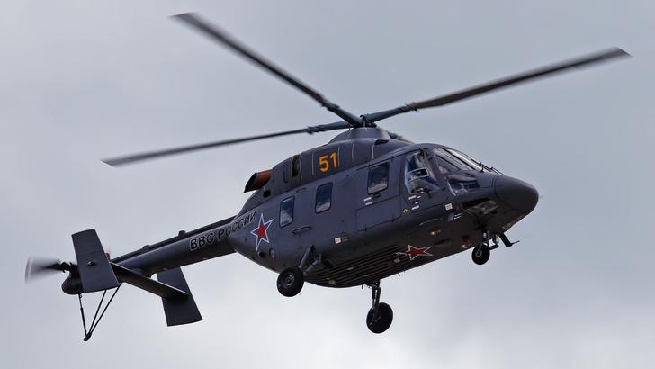 ВКС РФ в Саратовской области получили партию новых вертолетов «Ансат»