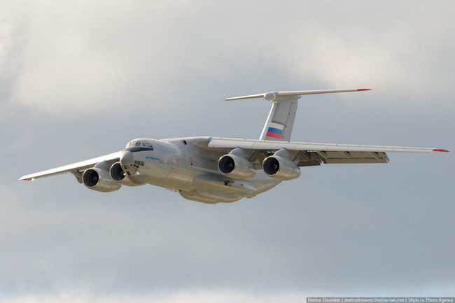 Ил-76МД-90А на авиасалоне МАКС-2013