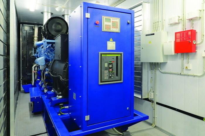 Дизельная электростанция мощностью 800 кВт производства ГК ТСС