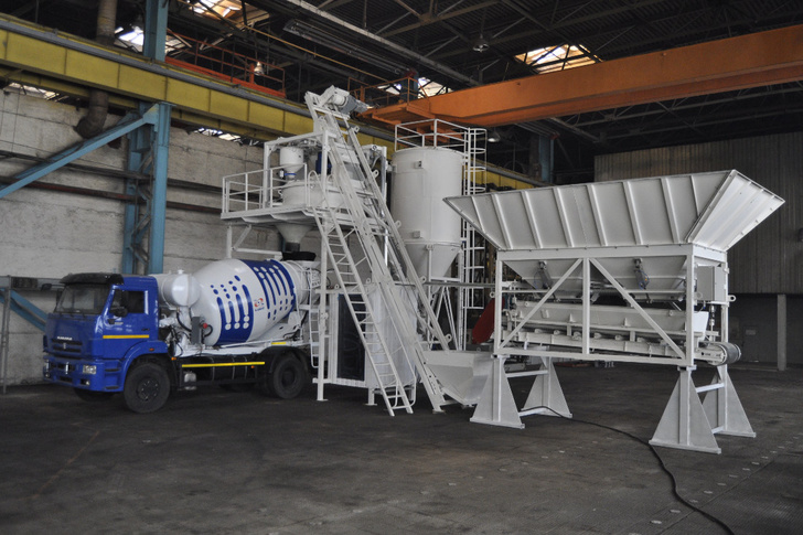 В Башкирии освоено производство мобильных бетонных заводов