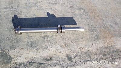 Вал первой оси (в сборе) шпиндельная бабка-коробка скоростей станков 1М65 1Н65 ДИП500 165