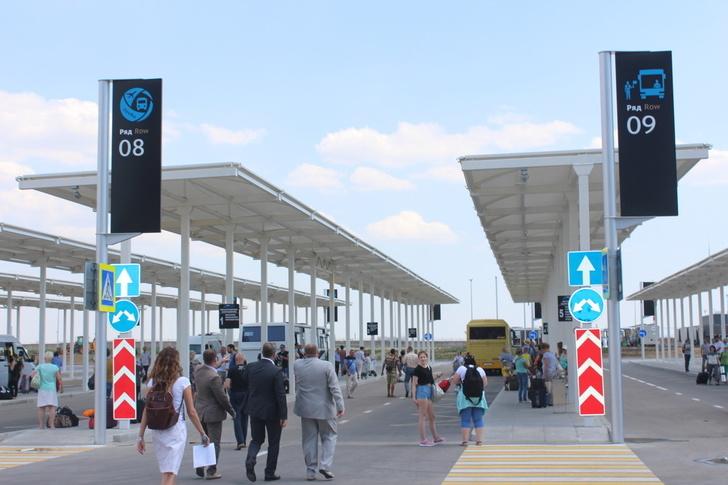 """В аэропорту """"Симферополь"""" запустили междугороднюю автостанцию"""