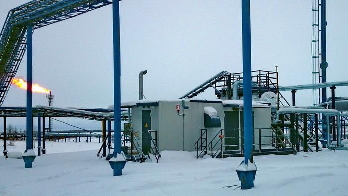 ВКС «ЭНЕРГАЗ» на ДНС-2 Еты-Пуровского месторождения