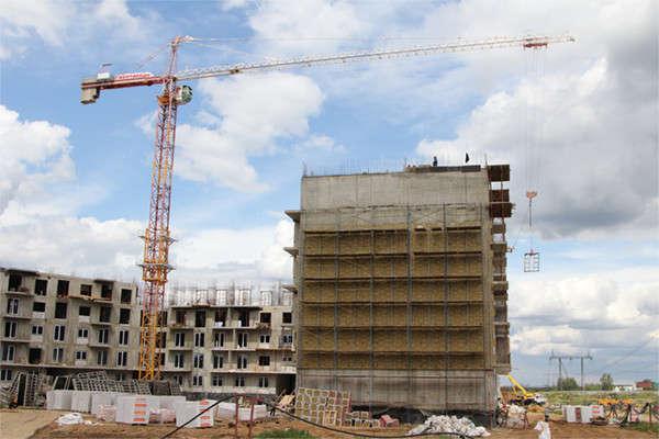 Строительство ЖК Ромашково