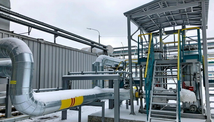 Высокоэффективная система фильтрации отходящего газа