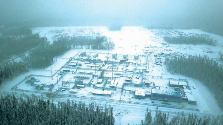 Приемо-сдаточный пункт Чаяндинского месторождения ООО «Газпром добыча Ноябрьск»