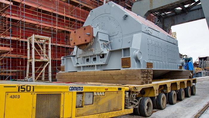 РУСЭЛПРОМ поставил уникальные компоненты системы электродвижения для новейших атомных ледоколов