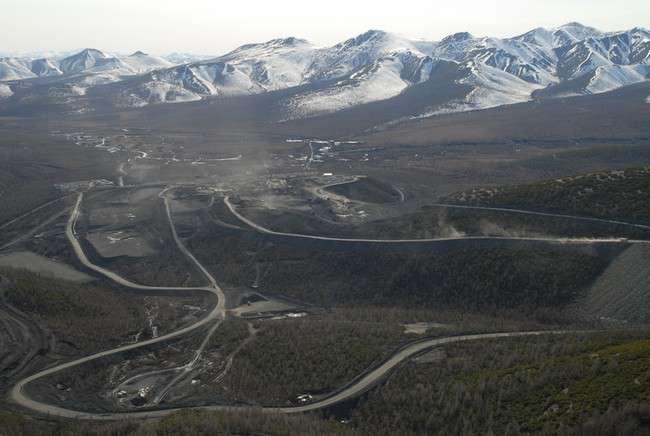 дороги Наталкинского месторождения