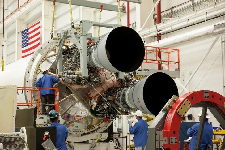 Двигатели РД-181 на ракете-носителе Antares