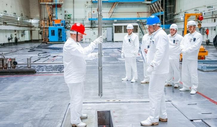 Курская АЭС впервые начала производство промышленного радиоизотопа кобальта (Со-60)