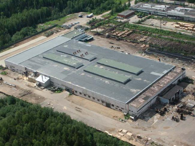 Завод Norvik Timber в республике Коми