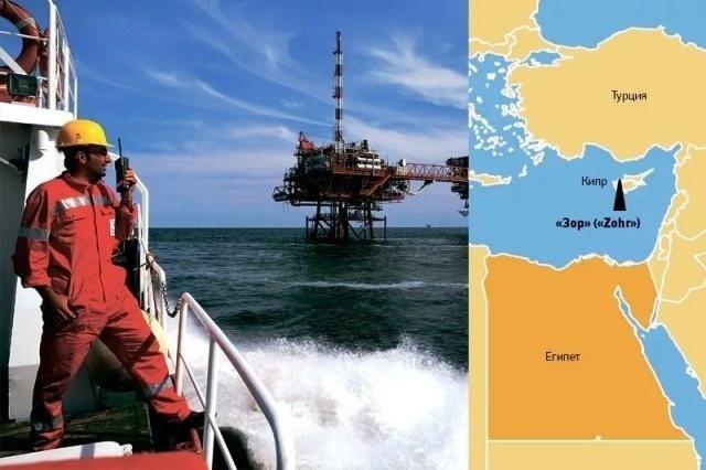 «Роснефть» ввела в эксплуатацию 3-ю очередь завода по подготовке газа на проекте Zohr в Египте