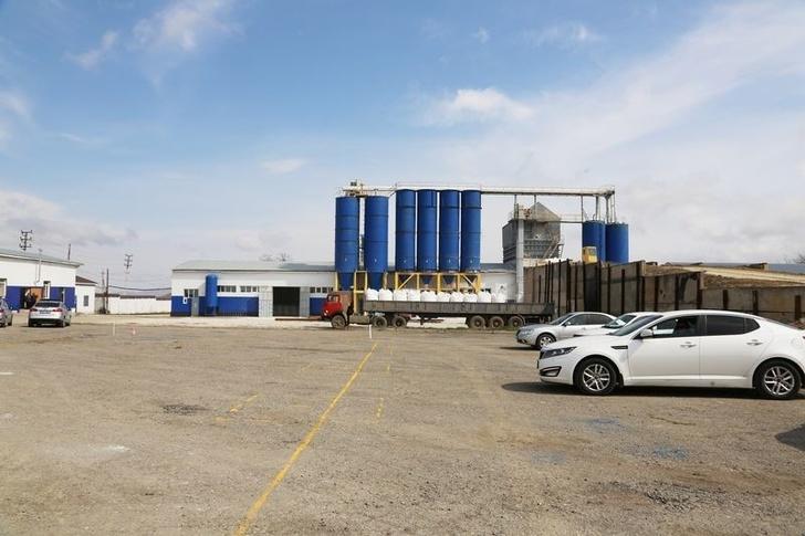 Строящийся гипсовый завод в Дагестане наладил выпуск 50 т гипса в сутки