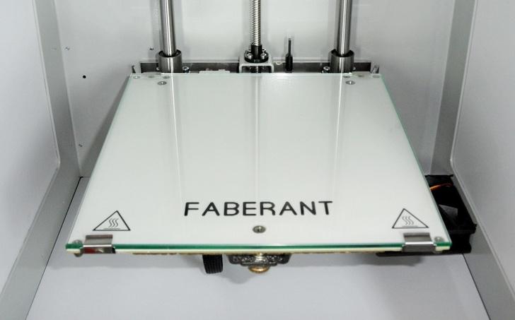 Нагревательный стол 3D-принтера Faberant Cube