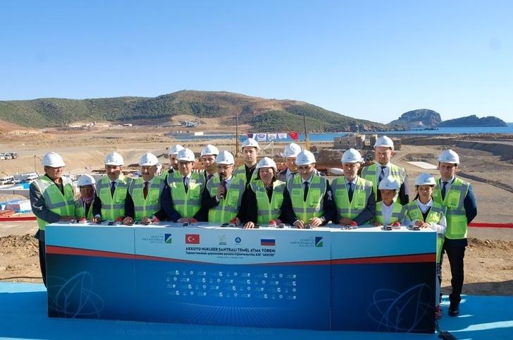 Запущено строительство первого энергоблока АЭС