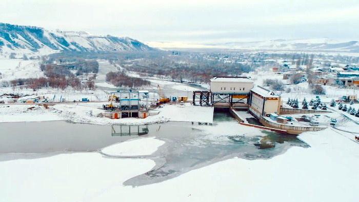 Малая ГЭС мощностью 1,26 МВт на водозаборе реки Большой Зеленчук (Карачаево-Черкесская республика)