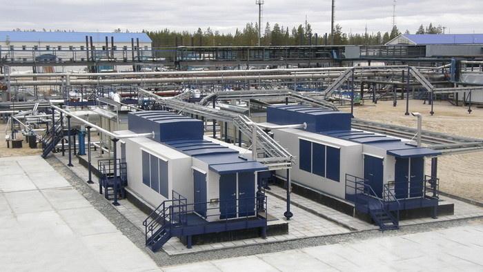 Вакуумные компрессорные станции на ЦПС ДНС-3 Вынгапуровского промысла