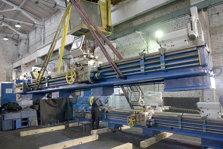 1М63Н РМЦ-5000 в процессе погрузки