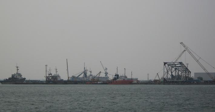 Южная часть порта «Черноморск»